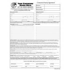 PEST-1007 Pest Control Commerical Service Agreement