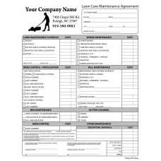 PEST-1008 Lawn Care Maintenance Agreement