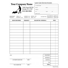 PEST-1009 Lawn Care Invoice