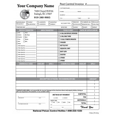 PEST-1010 Pest Control Invoice