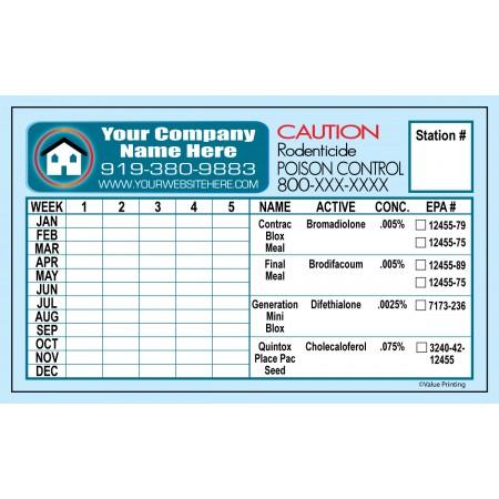 Pest Control Sticker #1