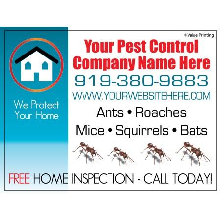 Pest Control Yard Sign #3