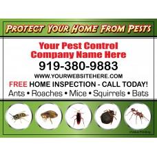 Pest Control Vehicle Magnet #4