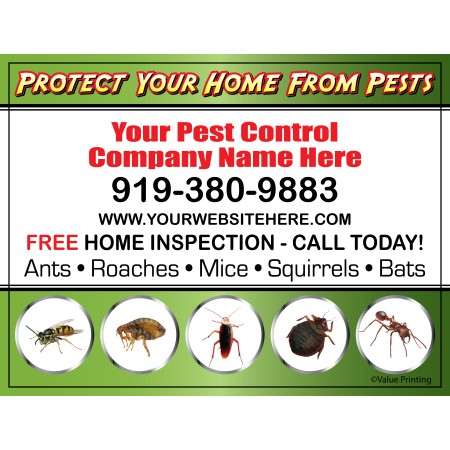 Pest Control Yard Sign #4