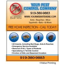 Pest Control Business Card #9