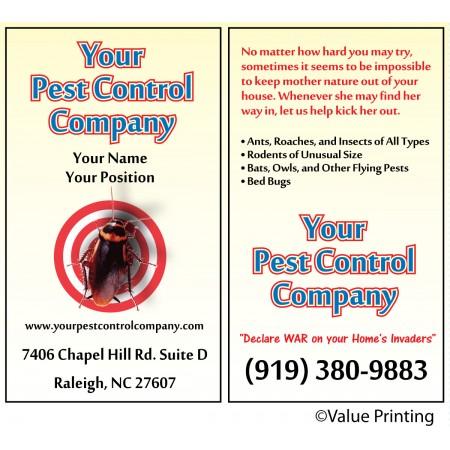 Pest Control Business Card #4