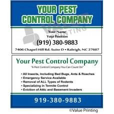 Pest Control Business Card #5