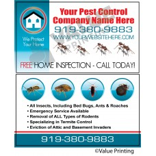 Pest Control Business Card #6