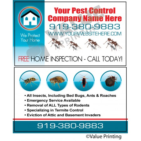 Pest Control Business Card #6