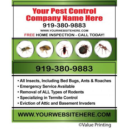 Pest Control Business Card #7