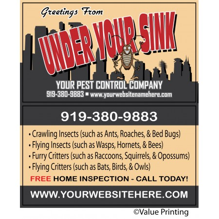 Pest Control Business Card #8