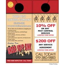 Pest Control Door Hanger #5