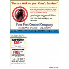 Pest Control Postcard #6