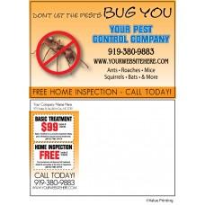 Pest Control Postcard #7